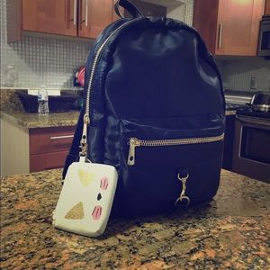 Navy blue Women's backpack